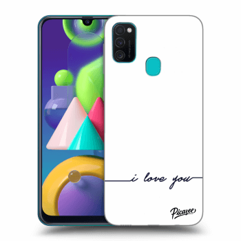 Hülle für Samsung Galaxy M21 M215F - I love you