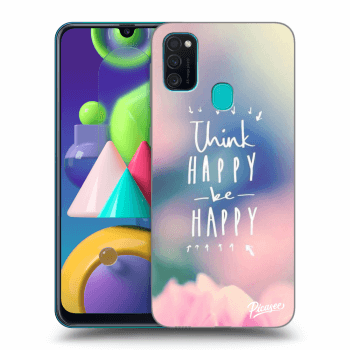 Hülle für Samsung Galaxy M21 M215F - Think happy be happy