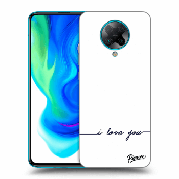 Hülle für Xiaomi Poco F2 Pro - I love you