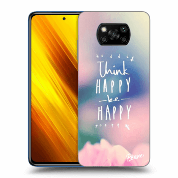 Hülle für Xiaomi Poco X3 - Think happy be happy