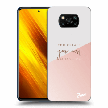Hülle für Xiaomi Poco X3 - You create your own opportunities