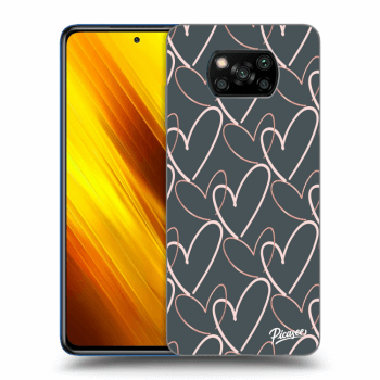 Hülle für Xiaomi Poco X3 - Lots of love