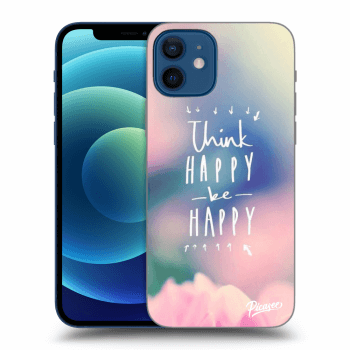 Hülle für Apple iPhone 12 - Think happy be happy