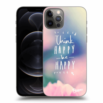 Hülle für Apple iPhone 12 Pro - Think happy be happy