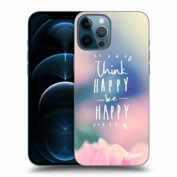 Hülle für Apple iPhone 12 Pro Max - Think happy be happy