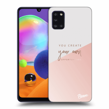 Hülle für Samsung Galaxy A31 A315F - You create your own opportunities