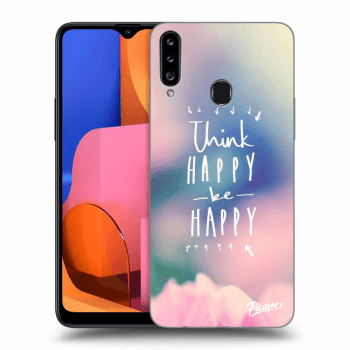 Hülle für Samsung Galaxy A20s - Think happy be happy