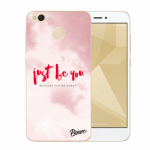 Picasee Xiaomi Redmi 4X Global Hülle - Transparenter Kunststoff - Just be you