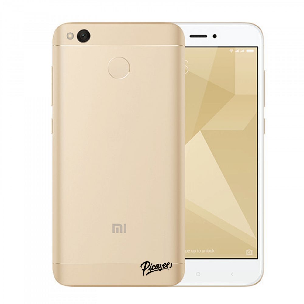 Picasee Xiaomi Redmi 4X Global Hülle - Transparentes Silikon - Clear