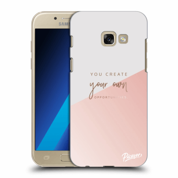 Hülle für Samsung Galaxy A3 2017 A320F - You create your own opportunities