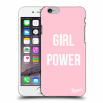 Picasee Apple iPhone 6/6S Hülle - Transparenter Kunststoff - Girl power