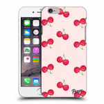 Picasee Apple iPhone 6/6S Hülle - Transparenter Kunststoff - Cherries