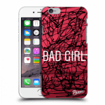 Picasee Apple iPhone 6/6S Hülle - Transparentes Silikon - Bad girl