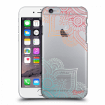 Picasee Apple iPhone 6/6S Hülle - Transparenter Kunststoff - Flowers pattern