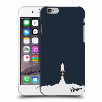 Picasee Apple iPhone 6/6S Hülle - Transparentes Silikon - Astronaut 2