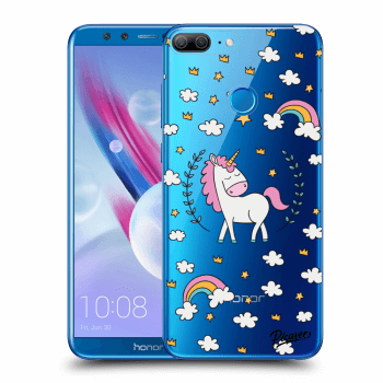 Hülle für Honor 9 Lite - Unicorn star heaven