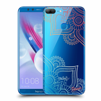 Hülle für Honor 9 Lite - Flowers pattern