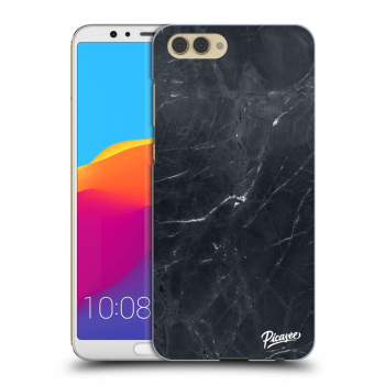 Hülle für Honor View 10 - Black marble