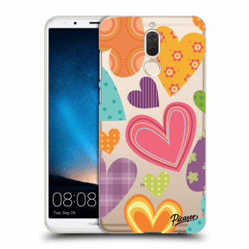 Hülle für Huawei Mate 10 Lite - Colored heart
