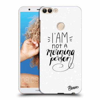 Hülle für Huawei P Smart - I am not a morning person