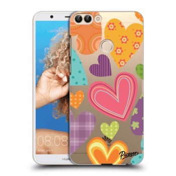Hülle für Huawei P Smart - Colored heart