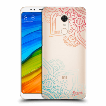 Hülle für Xiaomi Redmi 5 Plus Global - Flowers pattern