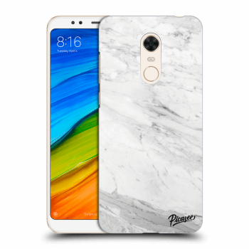 Hülle für Xiaomi Redmi 5 Plus Global - White marble