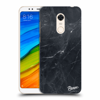 Hülle für Xiaomi Redmi 5 Plus Global - Black marble