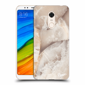 Hülle für Xiaomi Redmi 5 Plus Global - Cream marble