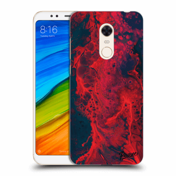 Hülle für Xiaomi Redmi 5 Plus Global - Organic red
