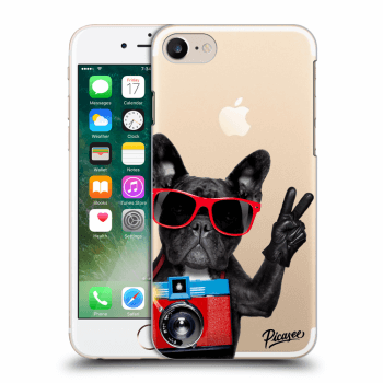 Hülle für Apple iPhone 7 - French Bulldog