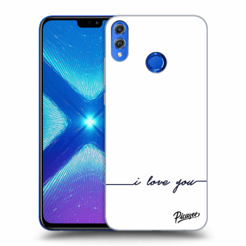 Hülle für Honor 8X - I love you