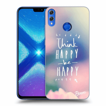Hülle für Honor 8X - Think happy be happy