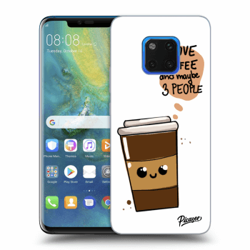 Hülle für Huawei Mate 20 Pro - Cute coffee