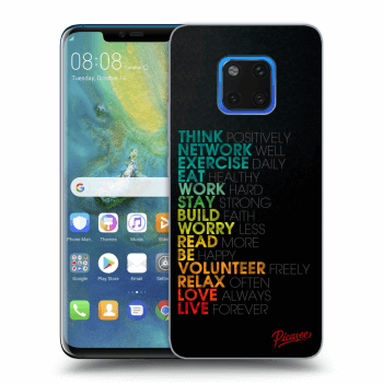 Hülle für Huawei Mate 20 Pro - Motto life