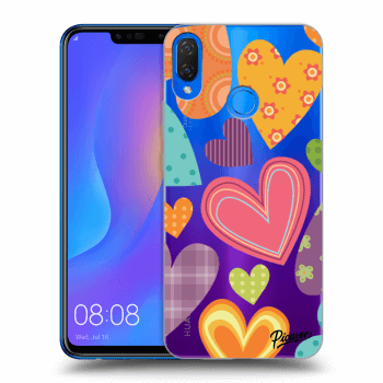 Hülle für Huawei Nova 3i - Colored heart