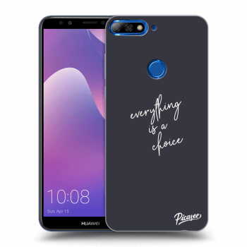 Hülle für Huawei Y7 Prime (2018) - Everything is a choice