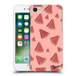 Picasee Apple iPhone 8 Hülle - Transparentes Silikon - Watermelon