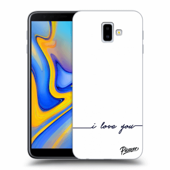 Hülle für Samsung Galaxy J6+ J610F - I love you