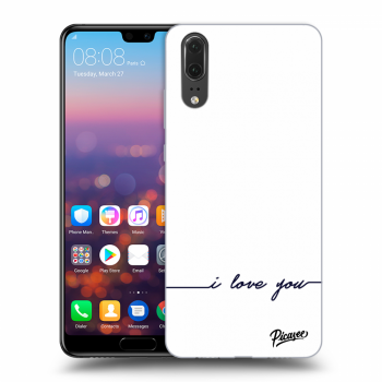 Hülle für Huawei P20 - I love you