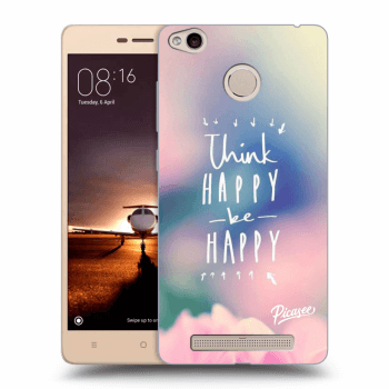 Hülle für Xiaomi Redmi 3s, 3 Pro - Think happy be happy
