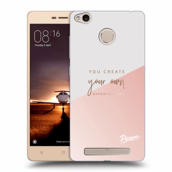 Hülle für Xiaomi Redmi 3s, 3 Pro - You create your own opportunities