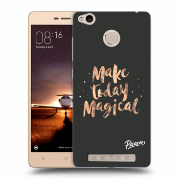 Hülle für Xiaomi Redmi 3s, 3 Pro - Make today Magical