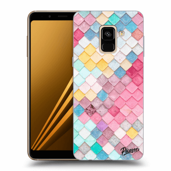 Hülle für Samsung Galaxy A8 2018 A530F - Colorful roof
