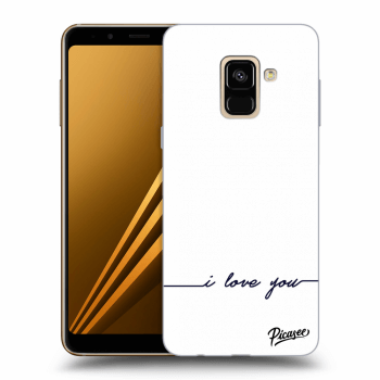 Hülle für Samsung Galaxy A8 2018 A530F - I love you