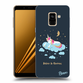 Hülle für Samsung Galaxy A8 2018 A530F - Believe In Unicorns