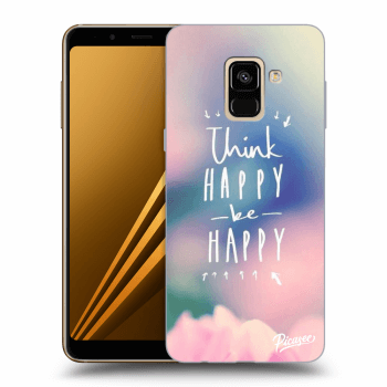 Hülle für Samsung Galaxy A8 2018 A530F - Think happy be happy