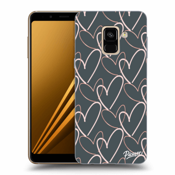 Hülle für Samsung Galaxy A8 2018 A530F - Lots of love