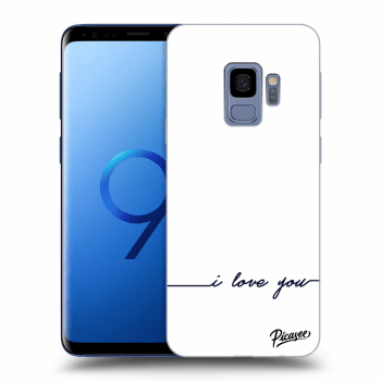 Hülle für Samsung Galaxy S9 G960F - I love you