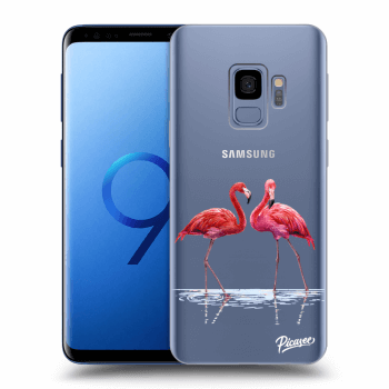 Hülle für Samsung Galaxy S9 G960F - Flamingos couple